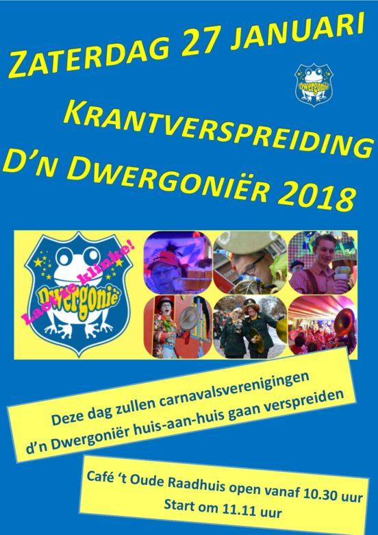 Poster krantverspreiding 2018